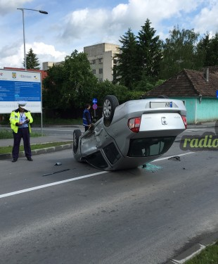 Accident masina rasturnata 26 mai 2016 - 4