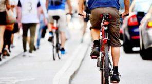 biciclist trafic