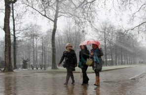 ploaie iarna