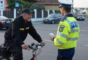 politie rutiera biciclisti