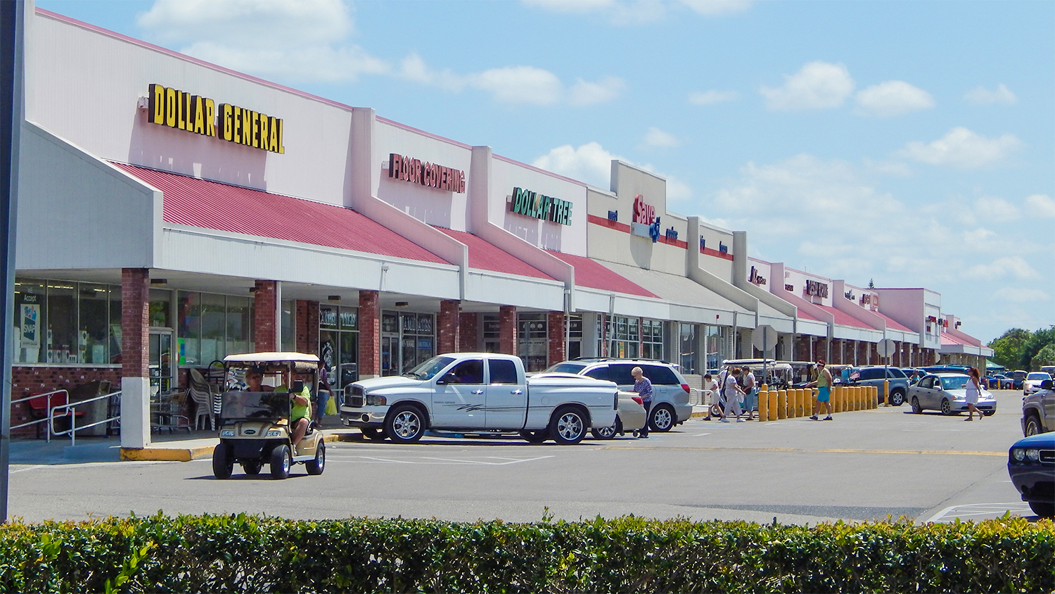 general steel strip mall
