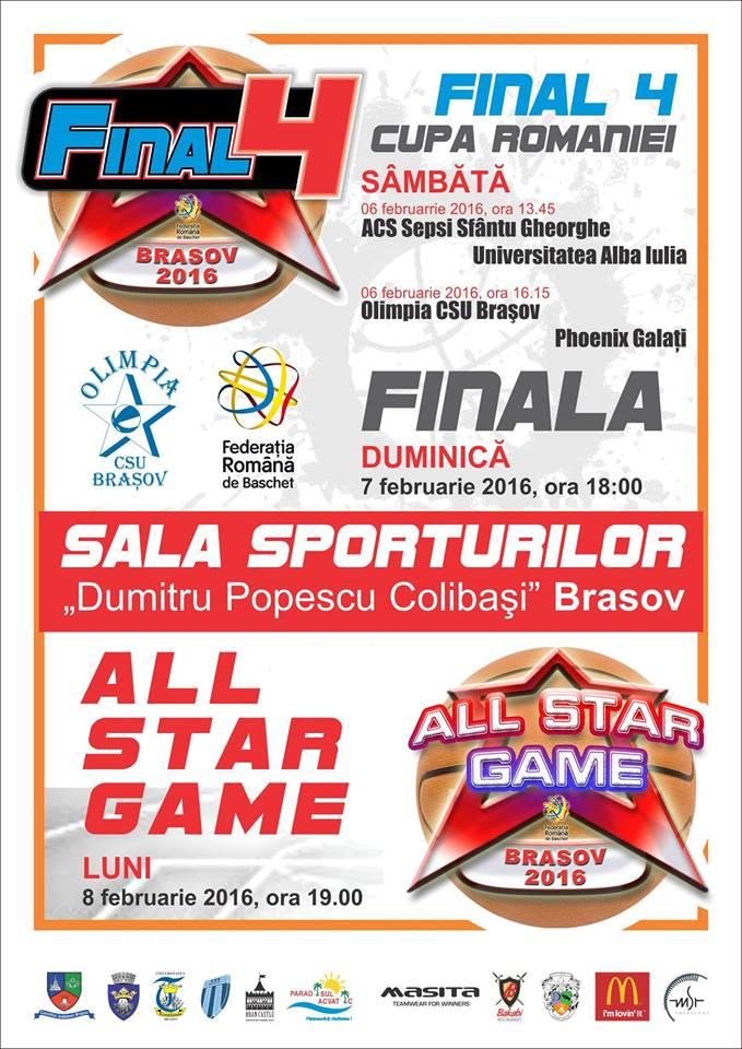 Şapte jucătoare de la Sepsi SIC în All Star Game-ul baschetului feminin de la Braşov