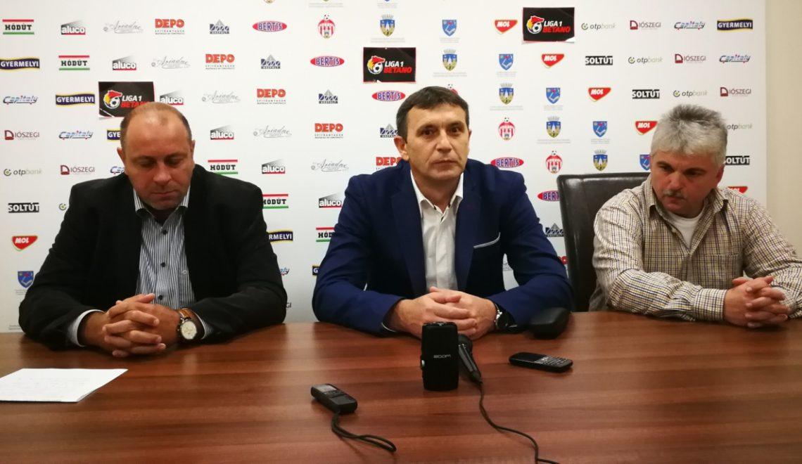 VIDEO. Eugen Neagoe este noul antrenor al echipei Sepsi OSK