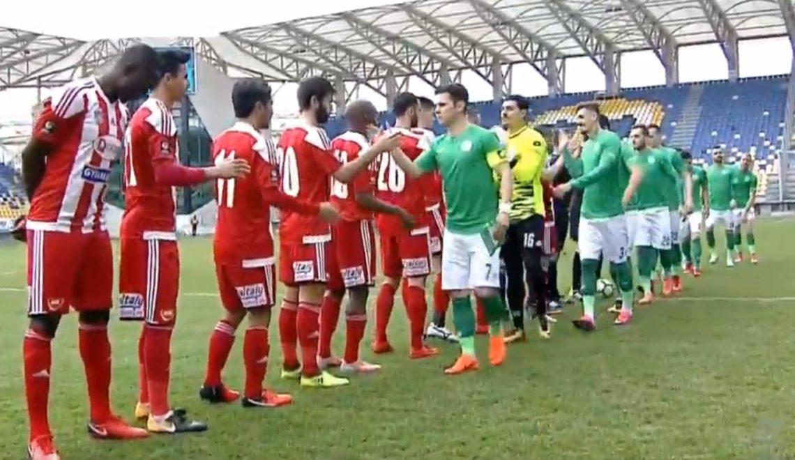 Sepsi OSK termină la egalitate meciul cu Concordia Chiajna. Rezumat VIDEO şi clasament