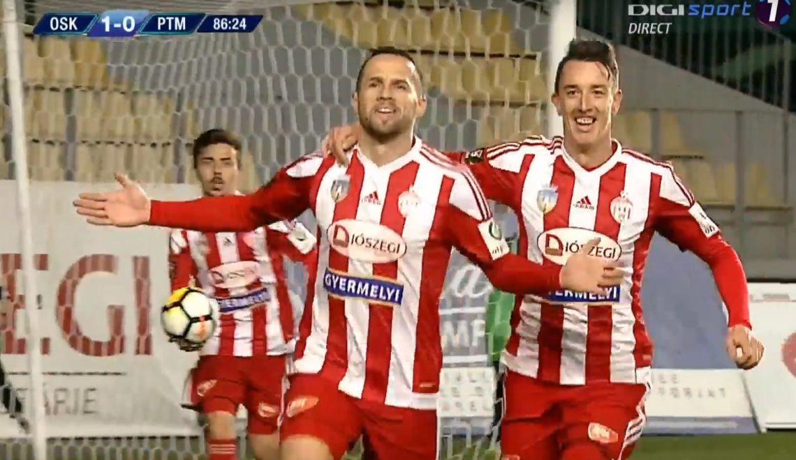Victorie pentru Sepsi OSK în primul meci oficial din 2018. Rezumat VIDEO şi clasament